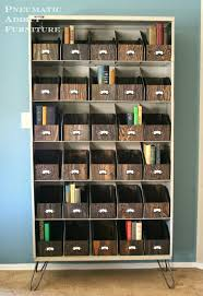 remodelaholic industrial style mudroom locker system