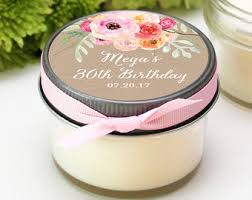 candle favors candle favors etsy
