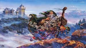 fantasy wizards fantasy wizard wallpaper background 3840 x 2160