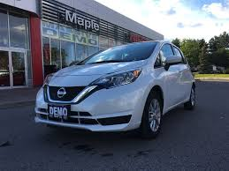 nissan versa exhaust system nissan versa note 2017 with 3 564km at maple nissan versa note