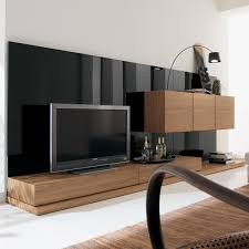 minimalist tv table made of wood with a simple design and is made