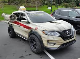 2017 nissan rogue star wars custom rogue one themed 2017 nissan rogue vehicle at lucasfilm
