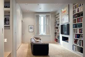 Small Spaces Bookshelf Ideas Living Room  Study Design Ideas - Living room interior design ideas uk