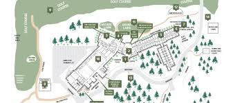 100 Acre Wood Map Columbia River Resorts Skamania Lodge Resort Map Resorts