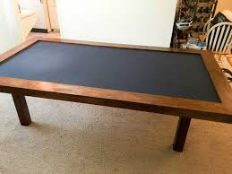 best board game table i built a dining room gaming table for under dnd ideas with game