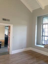 wall color bm brushed aluminum trim color bm chantilly lace it u0027s