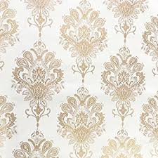 contact paper amazon com simplelife4u luxury gold damask contact paper removable
