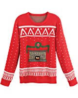 digital dudz crackling fireplace digital sweater at