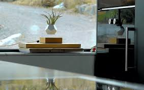 lyfe magnetic planter can u0027levitate u0027 plants in mid air daily