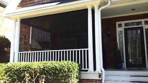 shade privacy curtains for porch u0026 patio youtube