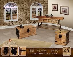 International Furniture Direct Maya Bedroom Storage Trunk With - Artisan home furniture