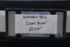 weathertech black friday deal black license plate frame page 2 2016 honda civic forum 10th