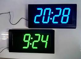 good quality square 3d watch home decoration decor digital large