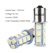 Led Light Bulbs For Travel Trailers by Amazon Com Hotsystem 12v 1156 7506 1003 1141 Led Smd 18 Led Bulbs