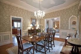 Wainscoting Dining Room Traditional Dining Room With Wainscoting U0026 Chair Rail In