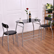 glass dining furniture sets ebay