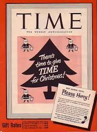 bamboo trading time magazine 1949 christmas subscription ad