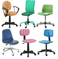 Colored Desk Chairs Design Ideas Furniture Rolling Chair With Basket Design And Plastic Blue