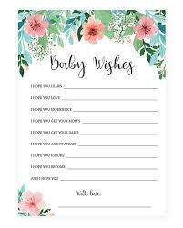printable new baby wishes floral baby shower download u2013 littlesizzle