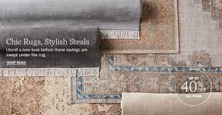 Chic Rugs All Rugs Pottery Barn