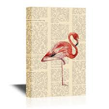 Flamingo Home Decor Wall26 Com Art Prints Framed Art Canvas Prints Greeting
