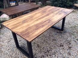 planche de bureau awesome bureau bois planche plateau vieilli pictures con plateau