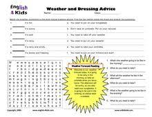 weather worksheets and booklets weather seasons water cycle