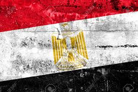 Flag Egypt Egypt Flag Painted On Grunge Wall Stock Photo Picture And Royalty