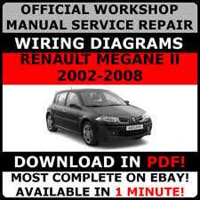 megane car service u0026 repair manuals ebay