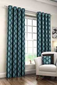 Teal Curtains Aqua Patterned Curtains Teal Curtains Coral Bedroom Curtains