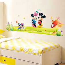the new listing of mickey mouse cartoon wall stickers children photos list