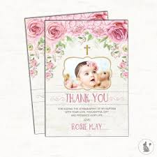 best 25 baptism thank you cards ideas on christening
