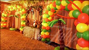 jungle theme birthday party tulipsevent best jungle safari zoo themed birthday party planner