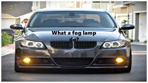 what do fog lights do important things to know about fog lights of your car