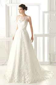 wedding dress etsy illusion neckline wedding dress ostinter info