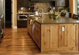 wonderful country kitchen with rustic island u2013 home design and decor