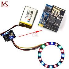 christmas light control module esp8266 esp 01 esp 01s rgb led controller adpater wifi module for