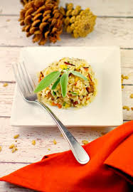 gluten free sausage apple rice thanksgiving side food