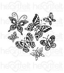 gallery white butterfly swirls heartfelt creations