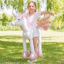 Pottery Barn Unicorn Costume New Ride On Step In Unicorn Kids Deluxe Fancy Dress Dressing Up