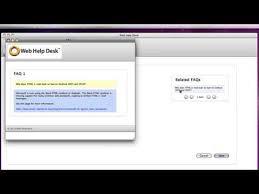 On Premise Help Desk Software Help Desk Software Features Web Help Desk
