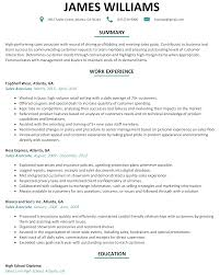summary of qualifications on a resume sales associate resume sample resumelift com