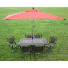 8 X 11 Rectangular Patio Umbrella Premium 10 U0027 Rectangular Patio Umbrella Free Shipping Today