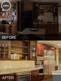 bernard u0026 karan u0027s kitchen before u0026 after pictures home