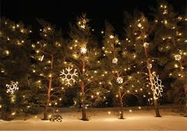 snowflake outdoor lights home design and decorating