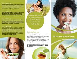 nutrition brochure template trifold nutrition and health brochure template hhe