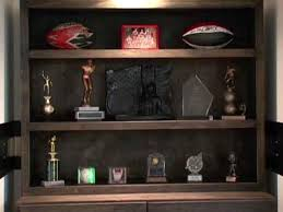 how to build a trophy case how tos diy