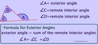 Measures Of Interior Angles Remote Exterior And Interior Angles Of A Triangle