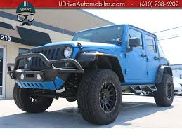 jeep sahara lifted 2016 jeep wrangler unlimited sport lifted customized inside and out