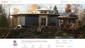 Shipping Container Homes Interior Airbnb Octopod Rental Shipping Container House Amys Office